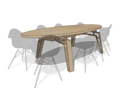 SOOL spinnenpoot tafel